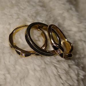 Avon Deco Fab 3 piece Ring Set